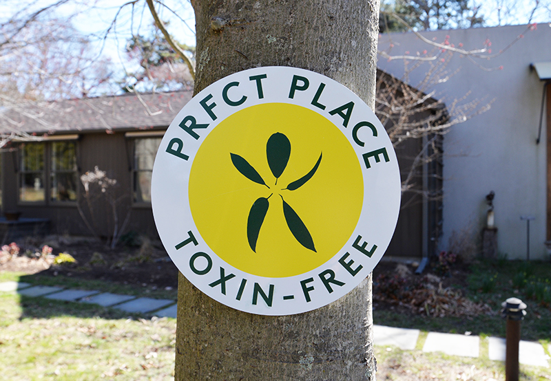 PRFCT Places Sign